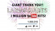 The LAND OF GIANTS teaser went online on the MACHINIMA YouTube channel about 15 months ago. Since then the numbers...