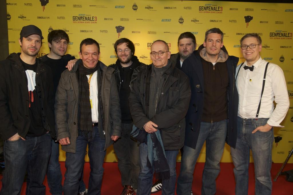 Krystof Zlatnik, Mark Wachholz, Rainer Matsutani, Till Kleinert, Dominik Graf, Michael Proehl, Philipp Knauss, Paul Andexel © GENRENALE